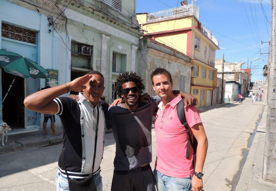 Onze 'vrienden' uit Santiago de Cuba.