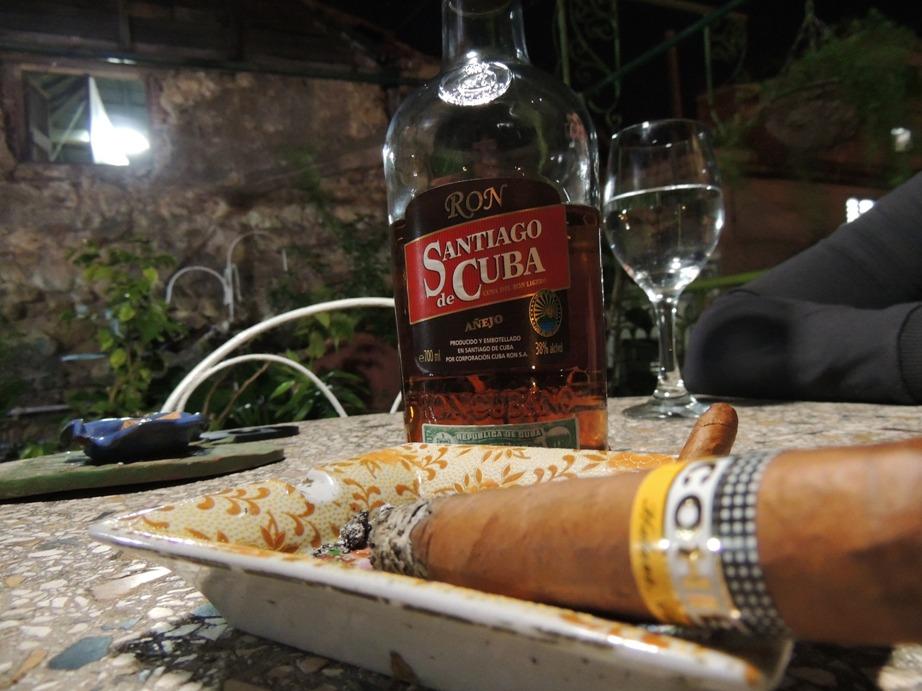 Rum sigaren Santiago de Cuba